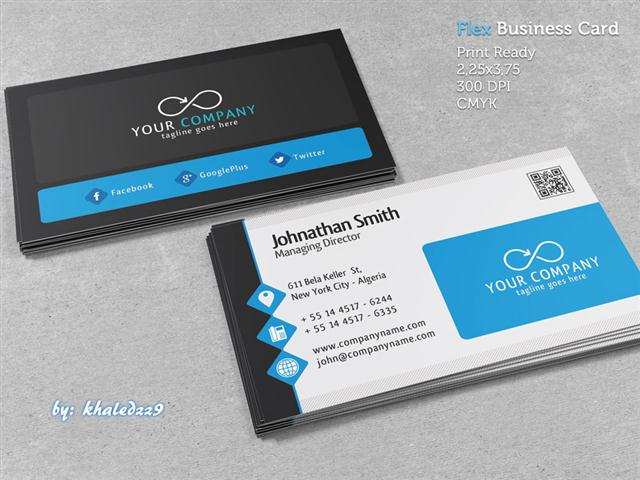 Flex Business Card (Small)