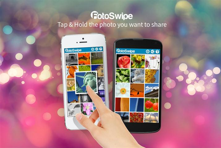 FotoSwipe -Swipe, Share Photos (Small)