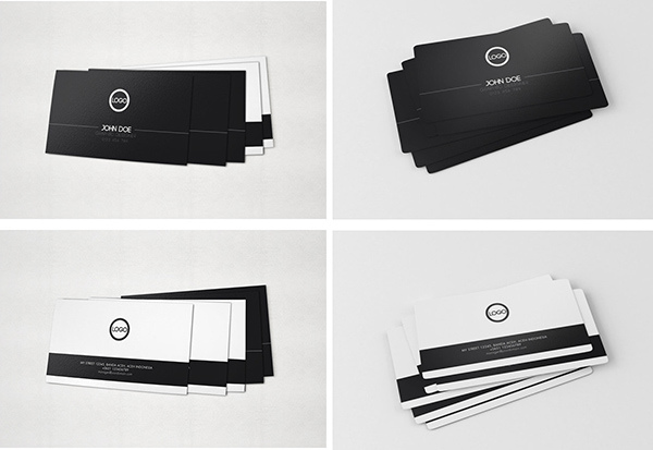 Free Business Card Mock-Up v.02