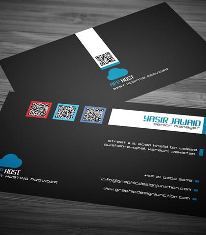 Free Corporate Business Card Mockup (PSD) (Small)