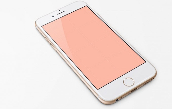 Free IPhone 6, 4.7-Inch PSD Template