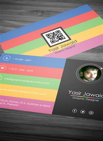 Free Modern Business Card Mockup (PSD) (Small)