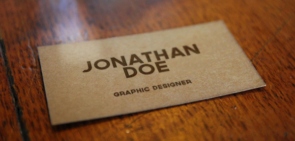 Free PSD Realistic Business Card Mockup