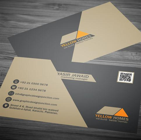 Free Real Estate Business Card Template (PSD) (Small)