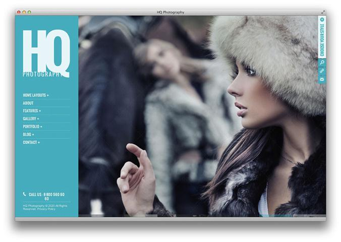 HQ Photography Responsive WP Theme (Small)