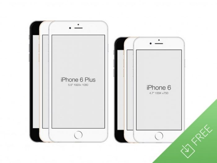 IPhone 6 – Free PSD Mockup Template