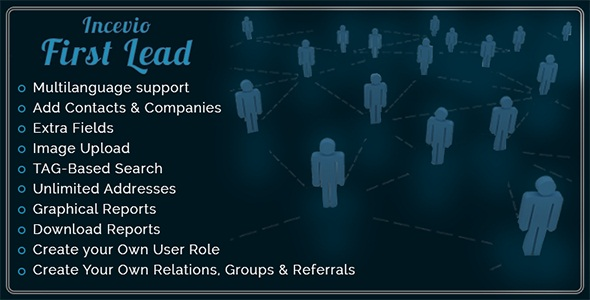 Incevio First Lead - Contacts and Lead Management