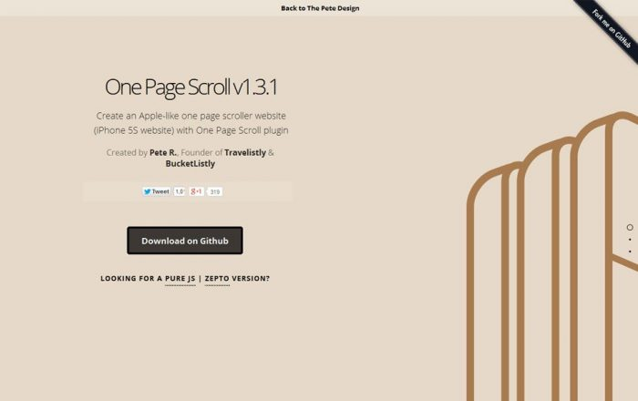JQuery-One-Page-Scroll
