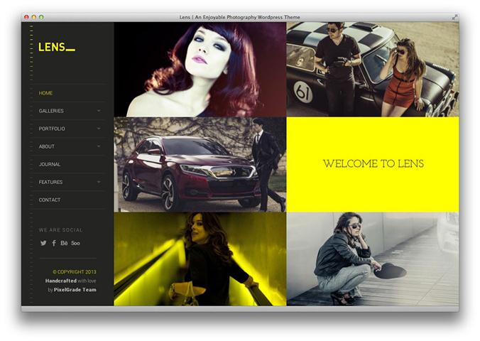 LENS – An Enjoyable Photography WordPress Theme (Small)