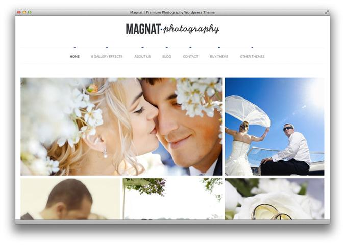 Magnat Photography WordPress Theme (Small)