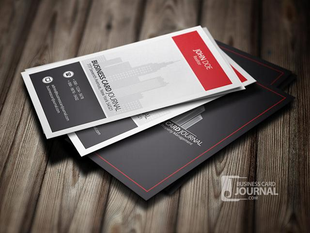 Modern & Stylish Real Estate Business Card Template (Small) (2)