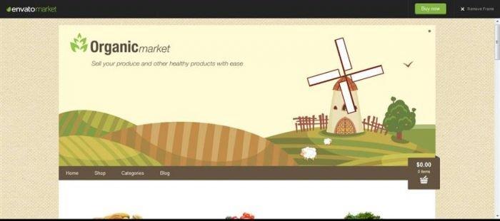 Organic Market (Custom)