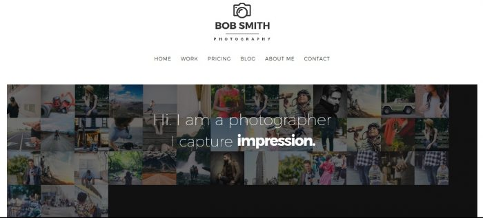 Photographer - A WordPress Theme