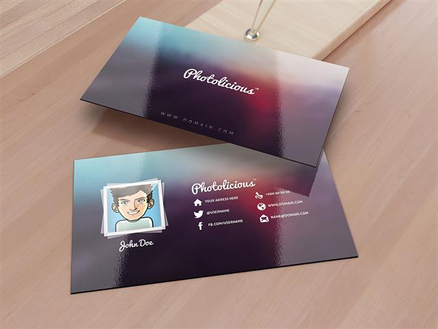Photographer Business Card (Small) (2)