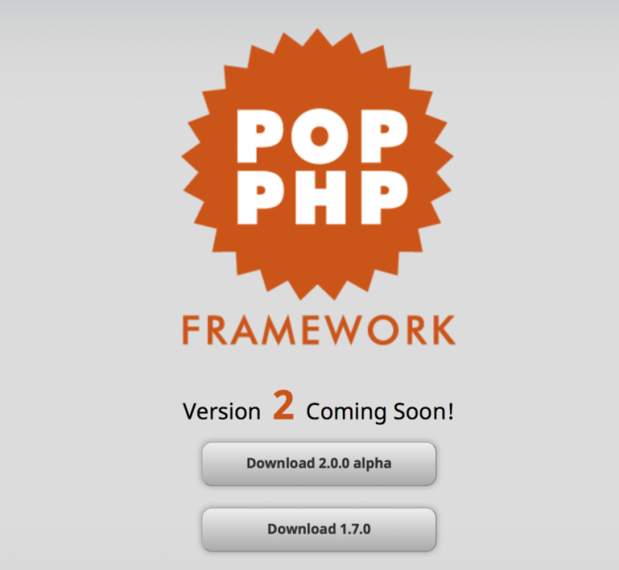 Pop-PHP-Framework