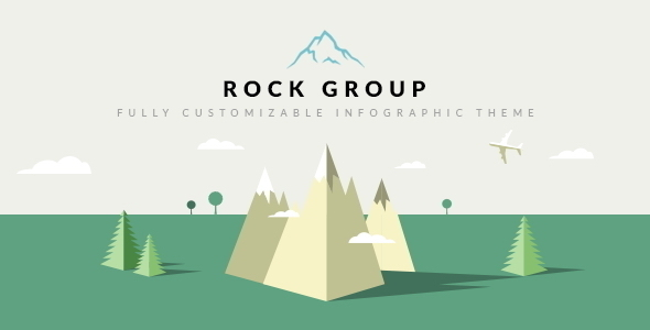 Rock Group  Multipurpose Infographic Theme