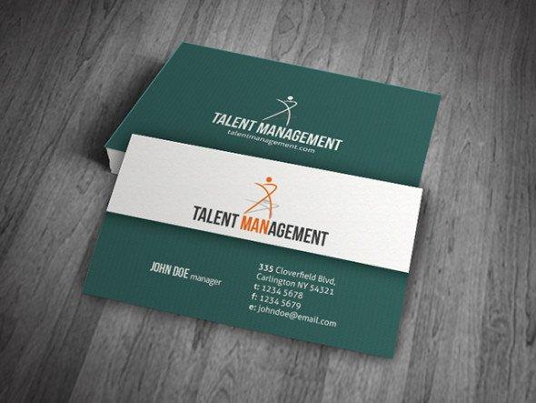 Simple & Modern Corporate Business Card Template