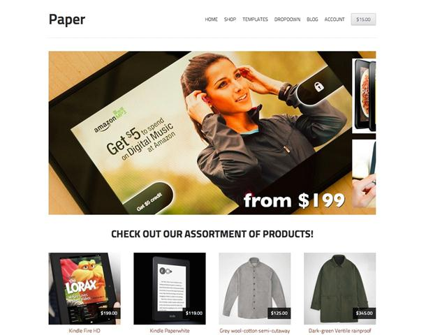 Storefront Paper (Small)