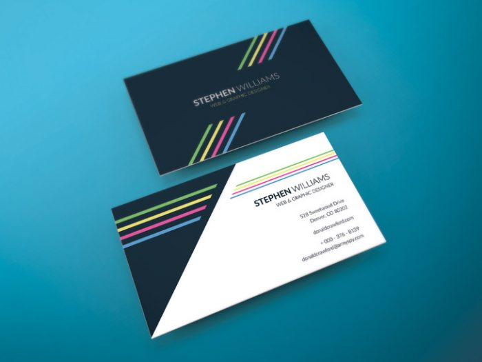 Two Side Print Ready Free Business Card Template