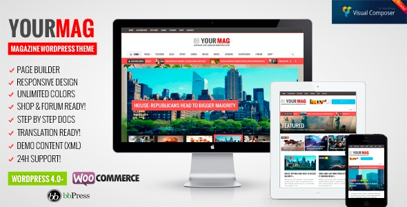 YourMag - Universal WordPress News Magazine Theme