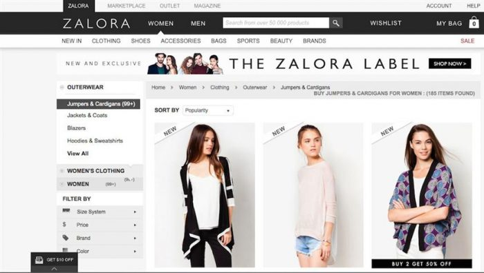 ZALORA Shop Fashion On-The-Go (Small)