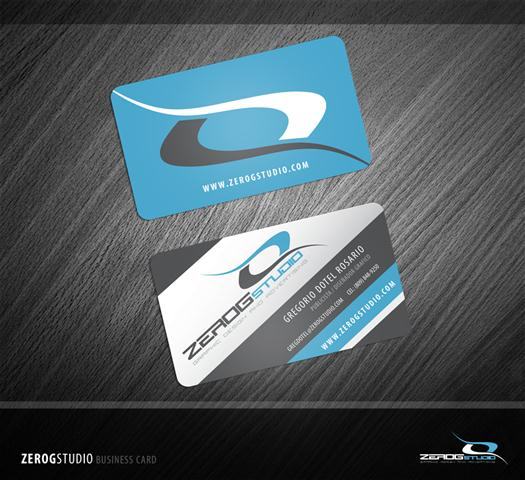 ZeroGStudio Business Card (Small)