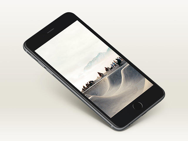 iPhone 6 Plus mockup