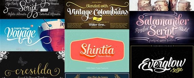 100 Best Fonts For Logos
