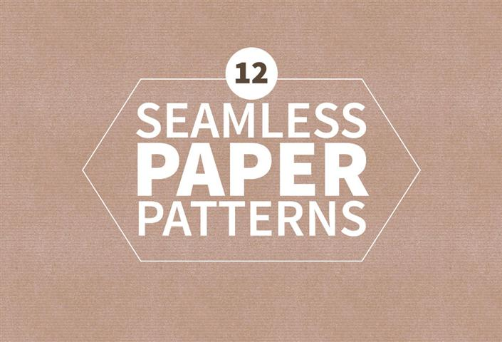 12 Free Seamless Paper Patterns (Small)