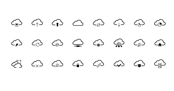 24 FREE Cloud Vector Icons