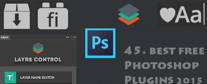 45+ best free Photoshop Plugins