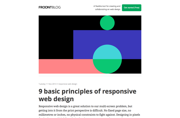 9 Basic Principles of Responsive Web Design