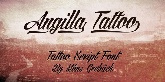 Angilla Tattoo (Small)