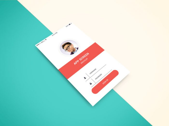 App Screen Showcase Mockup Vol.2