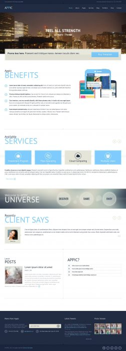Appic - Business & Technology WordPress Theme