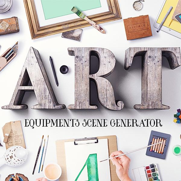Art Equipments Scene Generator V4 (Custom)