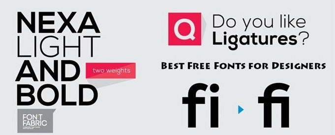Best Free Fonts for Designers