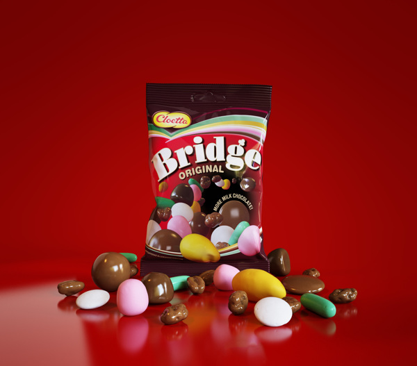 Bridge candy mix