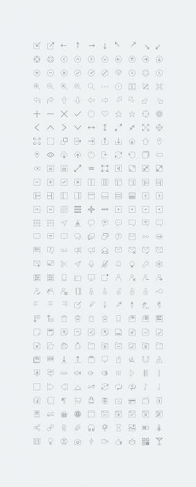 COMPASSCONS – 300 Free Icons