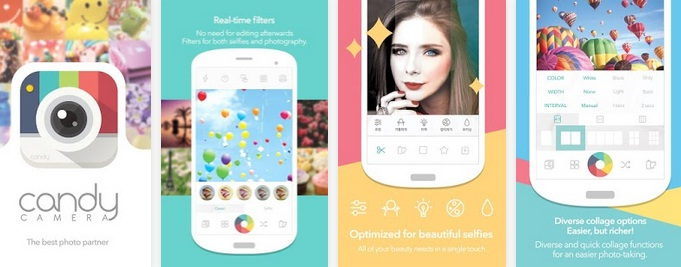 Candy Camera for Selfie