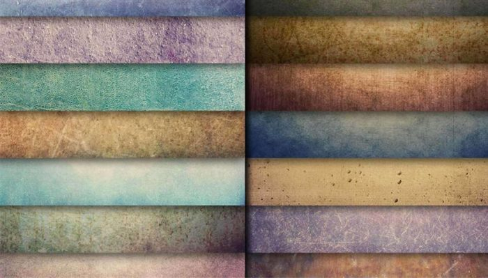 Colorful Grunge Textures (Small)