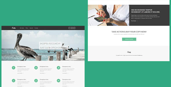 Crafty – Corporate HTML Template