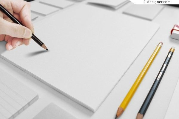 Drawing Painting Template PSD