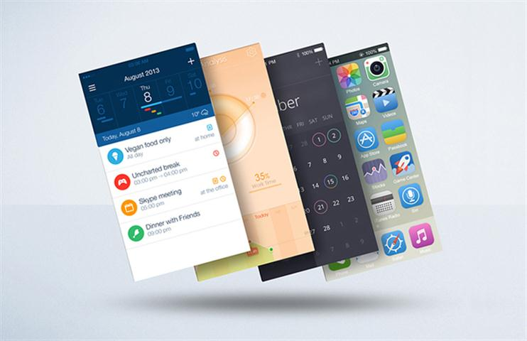Float Mobile Display Mockup (Small)