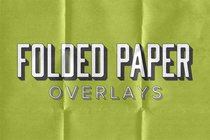 Folded Paper Overlays (Small)