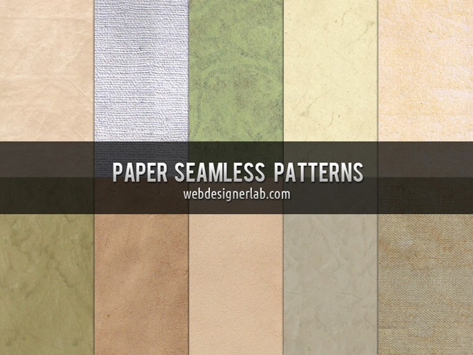 Free Paper Seamless Patterns