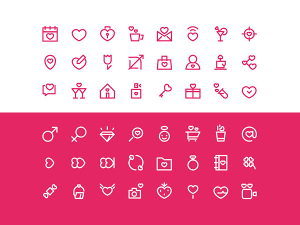 Free Valentine-s Day icon set