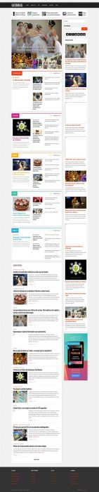 GodMag - Flexible Magazine Template for Blogger