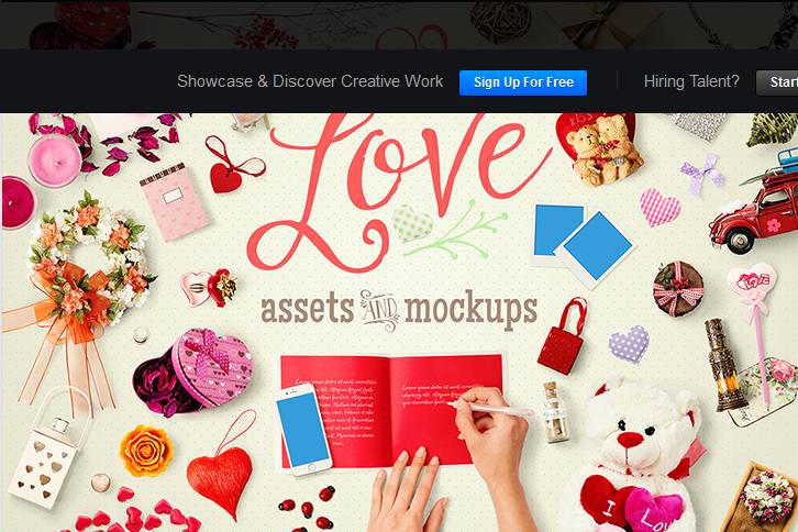 In Love Assets And Mock Ups