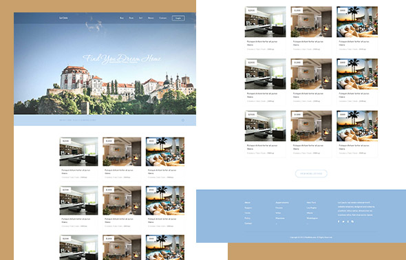 La Casa – Real Estate HTML template